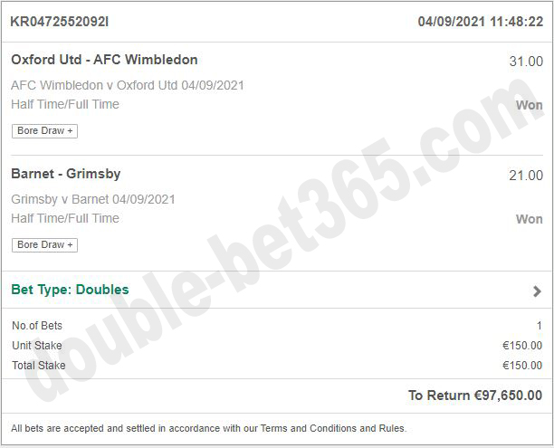 double ht ft real fixed matches